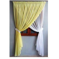 Kasandra Firana gotowa do salonu 240 wys x 280 szer cm (żółto-biała)