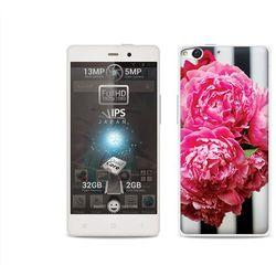 Foto Case - Allview X1 Soul - etui na telefon Foto Case - różowe kwiaty z kategorii Futerały i pokrowce do