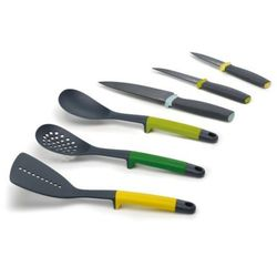 Joseph joseph Zestaw 6 przyborów i noży elevate kolorowy