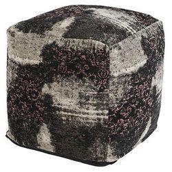 Vintage kwadratowy puf postarzany różowy 45 x 45 x 45cm - puri marki Qazqa