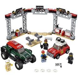 75894 1967 MINI COOPER S RAILY oraz 2018 MINI JOHN COOPER WORKS BUGGY KLOCKI LEGO SPEED CHAMPIONS