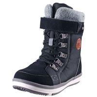 Buty zimowe REIMA ReimaTec FREDDO czarne - z rzepem (6416134524833)