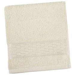 Ręcznik kąpielowy Kamilka Pasek beżowy, 70 x 140 cm