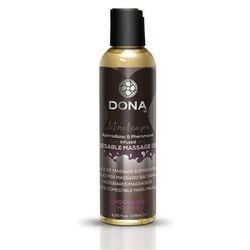 Olejek jadalny do masażu z feromonami -  kissable massage candle czekoladowy wyprodukowany przez Dona