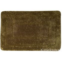 Dywanik łazienkowy 50x80cm akryl, ciemny brąz kp04h od producenta Aqualine