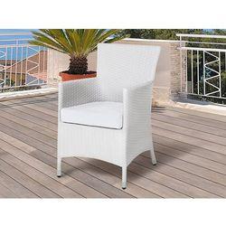 Zestaw poszewek na poduszki do mebli ogrodowych ITALY złamana biel (4260602370109)