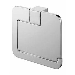 uchwyt WC z klapką Bisk Futura Silver 02991