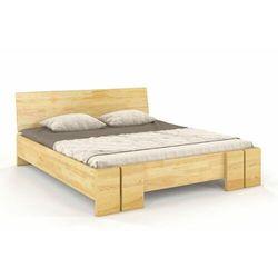 Łóżko drewniane sosnowe vestre maxi & long 90-200x200 marki Skandica