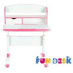 Fundesk Pensare pink - regulowane biurko