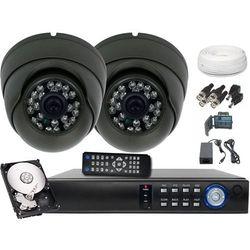 Ivel Kompletny monitoring ahd 2 kamery 1,3mp dysk 500gb