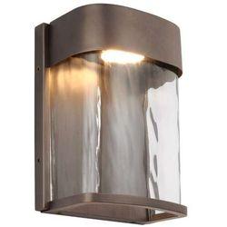 Feiss Zewnętrzna lampa ścienna bennie fe/bennie/s anbz elstead elewacyjna oprawa ogrodowa led 14w kinkiet ip44 brąz (5024005321514)