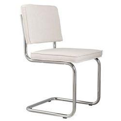 Zuiver  krzesło ridge rib białe 1006004