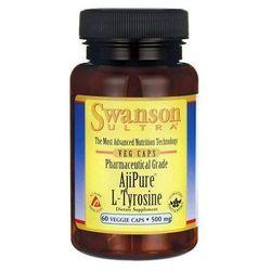 Swanson AjiPure L-Tyrozyna 500mg 60 kaps. - sprawdź w wybranym sklepie