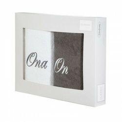 Eurofirany Komplet ręczników kpl/on ona 2/50 b+stal (5903571097910)