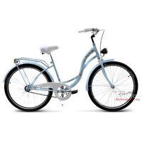 Rower miejski 26 Vanessa błękitna (stożki) - Błękitny