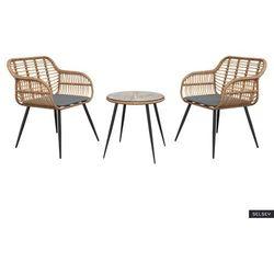 SELSEY Zestaw ogrodowy Haldir stolik z dwoma krzesłami (5903025553184)