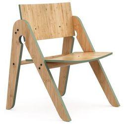 Krzesło dziecięce lilly's, natualny/zielony- we do wood marki Wedowood