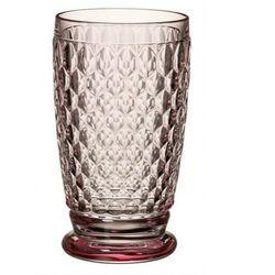 Villeroy & Boch - Boston Coloured Wysoka szklanka różowa pojemność: 0,4 l