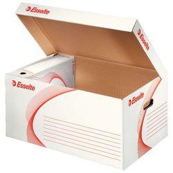 Pudło archiwizacyjne otwierane od góry na pudła białe (365x255x550) marki Esselte