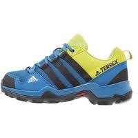 adidas Performance TERREX AX2R Półbuty trekkingowe core blue/core black/unity lime