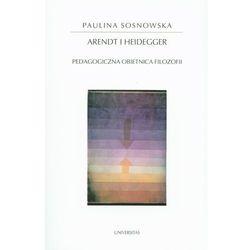 Arendt i Heidegger-Wysyłkaod3,99, pozycja wydawnicza