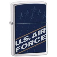 Zapalniczka ZIPPO US Air Force, Brushed Chrome (Z24827) - produkt z kategorii- Zapalniczki