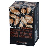 Czarna herbata  z aromatem cynamonu - 30x1,5g marki Vintage teas