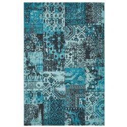 Dywan komfort vivid vintage 200x290 niebieski szary turkus marki Myretail