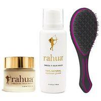 Rahua  zestaw regenerujący: finishing treatment 60ml + omega 9 mask 178ml + prezent szczotka air motion