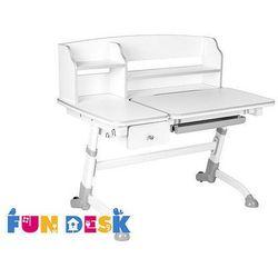 Amare II Grey regulowane biurko z szufladą FunDesk, FunDesk