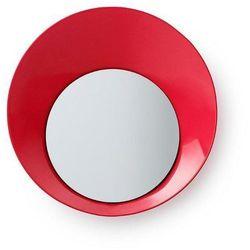 Normann copenhagen Wieszak z lustrem ready czerwony (5707434056744)