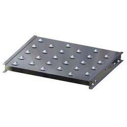 Stół kulowy, wys. konstrukcji 70 mm, szer. przenośnika 600 mm, dł. 500 mm, podzi marki Gura fördertechnik