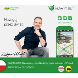 Navitel Mapa  navigator polska na smartfony i tablety darmowy odbiór w 19 miastach!