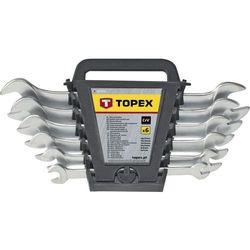Zestaw kluczy płaskich TOPEX 35D656 6 - 22 mm (8 elementów)