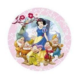 Dekoracyjny opłatek tortowy princess - księżniczki - 21 cm marki Mode