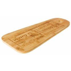 Deska do serwowania z włókna bambusowego, deska bambusowa do krojenia, deska kuchenna, deska do serów, akcesoria kuchenne marki Secret de gourmet