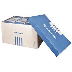 Pudło archiwizacyjne zamykane DONAU 522x351x305 niebiesko-białe 7666301FSC-10