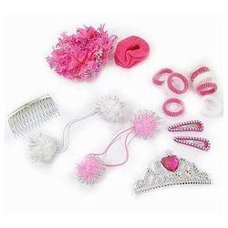 Zestaw akcesoriów do włosów Princess - elem.