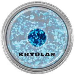 Kryolan  polyester glimmer coarse (royal blue) gruby sypki brokat - royal blue (2901)