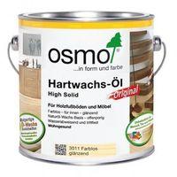 OSMO 3011 Wosk Twardy Olejny ORIGINAL 2,5 L - POŁYSK BEZBARWNY - produkt z kategorii- Woski i płyny do impre