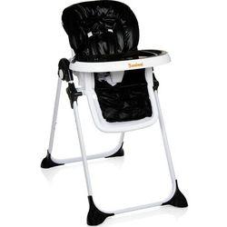 Baninni wysokie krzesełko składane olvio, czarne, bndt007-bk (5420038785444)