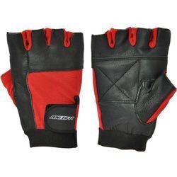 Rękawice fitness  a1291 czerwony (rozmiar l) wyprodukowany przez Axer sport