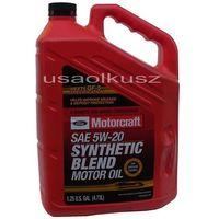 Syntetyczny olej silnikowy Motorcraft 5W20 4,73l Ford