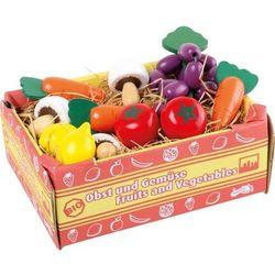 Small foot design Warzywa w skrzyneczce mix - 11 sztuk - zabawka dla dzieci