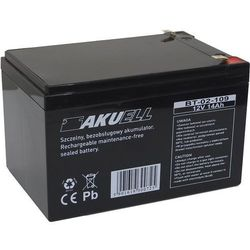 Akumulator 12V 9Ah żelowy AKUELL AGM z kategorii Zasilacze do obudów