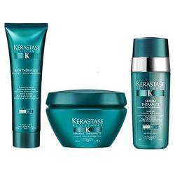 Kerastase Therapiste - zestaw do włosów bardzo zniszczonych: kąpiel 250ml + maska 200ml + serum 30ml, kup u jednego z partnerów