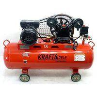 Kompresor olejowy/Sprężarka powietrza 100L - KD402