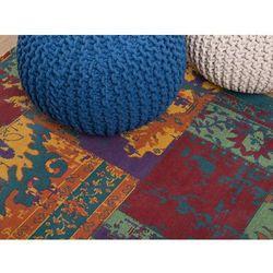 Beliani Dywan kolorowy - 160x230 cm - poliester - bawełna - handmade - tosya