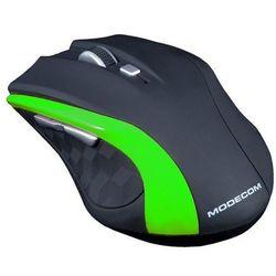 Mysz bezprzewodowa m-mc-0wm5-180 czarno-zielona marki Modecom