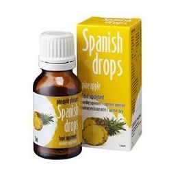 Cobeco pharma Super promocja spanish drops pineapple - hiszpańska mucha o smaku ananasa 15 ml. kup w naszym s